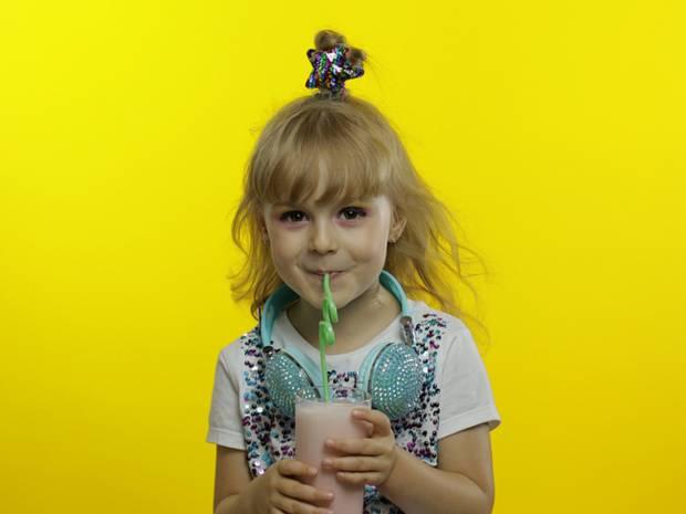 Milkshake με παγωτό βανίλια και ταχίνι για τα παιδιά