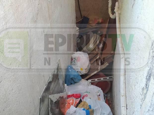 Ιωάννινα: Εδώ έκρυβε ο 55χρονος το μπαούλο με τη νεκρή θεία του για να παίρνει τη σύνταξή της