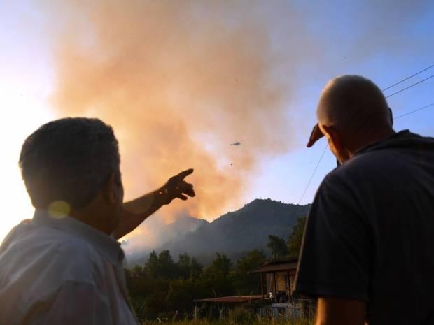 Φωτιά στην Ηλεία: Εντοπίστηκε ύποπτος για εμπρησμό - Τι λέει ο δήμαρχος Πύργου στο Newsbomb.gr