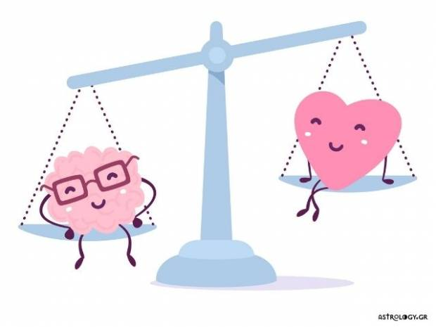 Με οδηγό το μυαλό ή την καρδιά; Πώς λειτουργεί το ζώδιό σου;