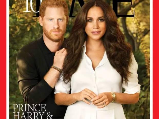 Πρίγκιπας Harry - Meghan Markle: Έξαλλο το Twitter με το photoshop στο εξώφυλλο του Time