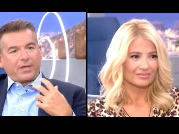 Φαίη Σκορδά: «Ποιος σου είπε ότι ο Λιάγκας δεν έχει σύντροφο;» – Αμηχανία για τον παρουσιαστή