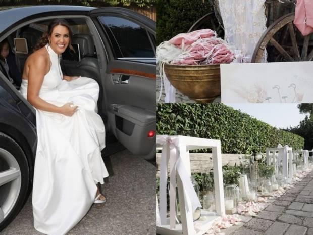 Παντρεύτηκε η Μάρτζυ Λαζάρου: Το νυφικό, ο παραμυθένιος στολισμός και η βάφτιση της κόρης της
