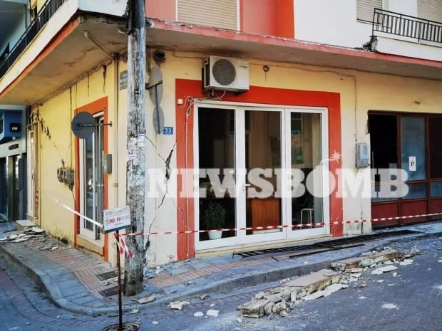 Σεισμός στην Κρήτη: Νέες καταρρεύσεις σε κτίσματα μετά τον ισχυρό μετασεισμό (pics+vids)