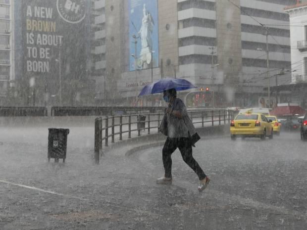 Έκτακτο δελτίο επιδείνωσης καιρού: Έρχεται η κακοκαιρία «Αθηνά» με ισχυρές βροχές και καταιγίδες