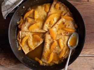 Συνταγή για κρεπ σουζέτ από τον Άκη Πετρετζίκη